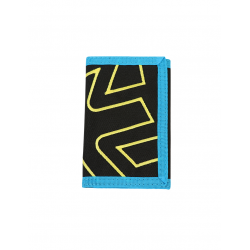 ICON OUTLINE WALLET NEGRA Y TURQUESA