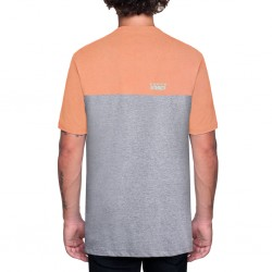 STACKED TEE CORAL