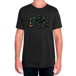ALL GREEN TEE NEGRO