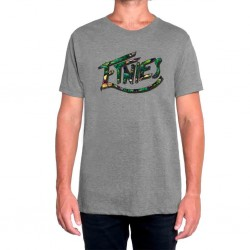 ALL GREEN TEE GRIS MELANGE